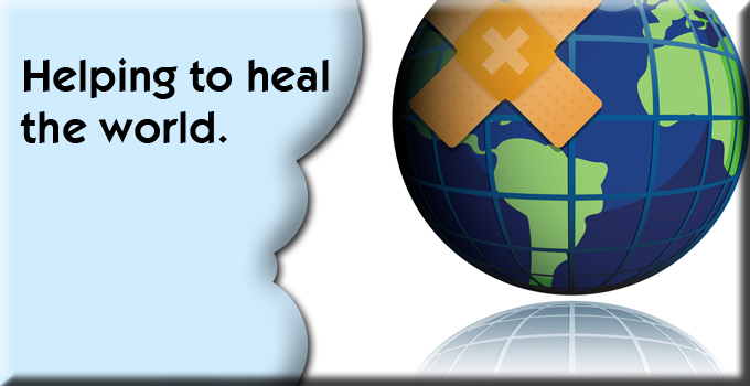 Helping to heal the world