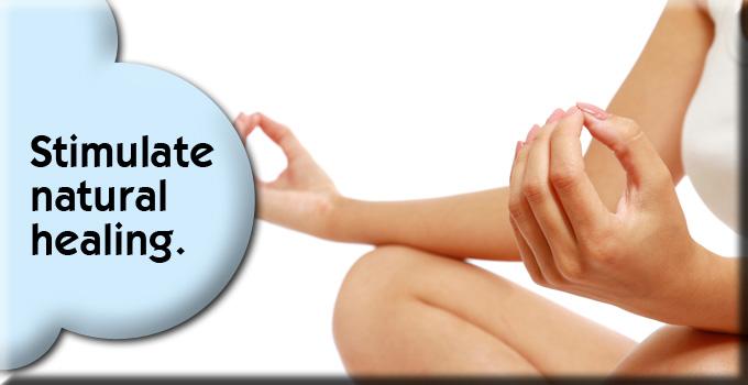 Stimulate natural healing