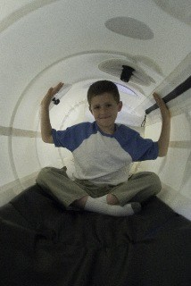 "33"" Portable Hyperbaric Chamber Interior"
