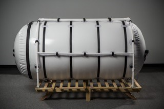 "46"" Portable Hyperbaric Chamber, Side View"